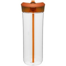 Orange 25 oz Flip Straw Mali Tritan Tumblers