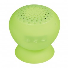 Lime Green Printed Silicone Speaker With Phone Stand