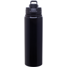 Black H2Go Surge Aluminum Water Bottles | 28 oz
