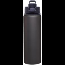 Black H2Go Surge Aluminum Water Bottles | 28 oz - Matte Black