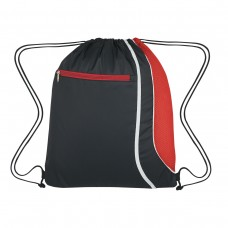 Red Custom Logo Drawstring Sports Pack