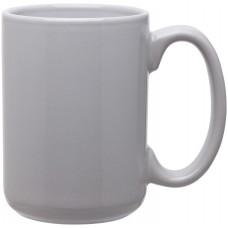 light gray 15 oz grande mugs - glossy