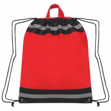 Red Printed Reflective Hit Sports Pack