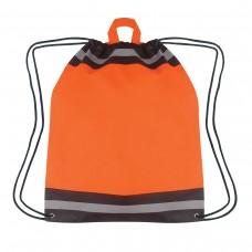 Orange Printed Reflective Hit Sports Pack