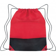 Red Custom Drawstring Sports Pack