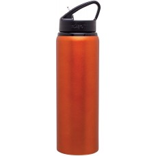 Matte Orange H2Go Allure Aluminum Water Bottles | 28 oz