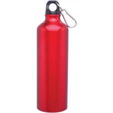 Red 24 oz h2go aluminum classic