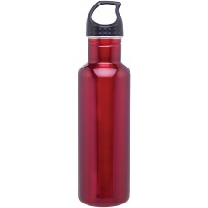 Red H2Go Stainless Steel Bolt | 24 oz