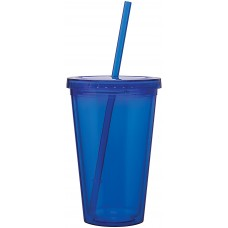 Blue 16 oz spirit tumbler