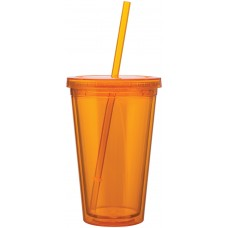 Orange 16 oz spirit tumbler-tangerine