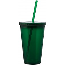 Green 16 oz spirit tumbler