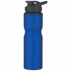 Metallic Blue Aluminum Sports Bottles | 28 oz