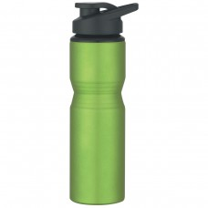 Metallic Green Aluminum Sports Bottles | 28 oz