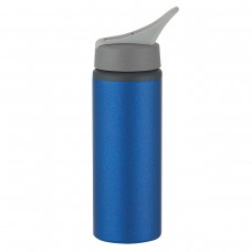 Metallic Blue Aluminum Bike Bottles | 25 oz