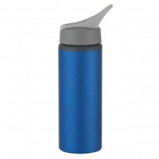 Metallic Blue Aluminum Bike Bottles | 25 oz