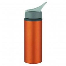 Metallic Orange Aluminum Bike Bottles | 25 oz