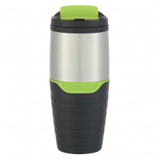 Green Stainless Steel Tumblers With Flip Lock Lid | 16 oz