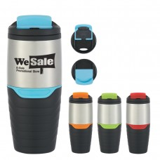 Stainless Steel Tumbler With Flip Lock Lid | 16 oz