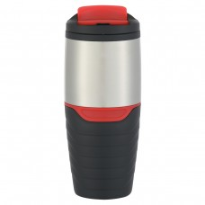 Red Stainless Steel Tumblers With Flip Lock Lid | 16 oz