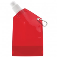 Red Collapsible Bottles | 12 oz