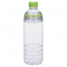 Green Easy-Clean Water Bottles | 28 oz - Clear Bottles With Lime Green Cap and Accents