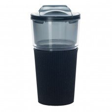 Black Tumblers With Sleeve | 16 oz