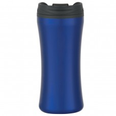 Metallic Blue Stainless Steel Double Wall Tumblers | 15 oz
