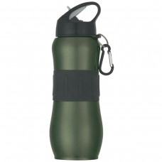 Green Stainless Steel Sport Grip Bottles | 28 oz