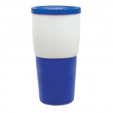 Blue Ceramic Travel Tumblers | 15 oz
