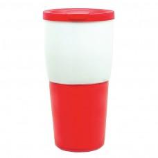 Red Ceramic Travel Tumblers | 15 oz