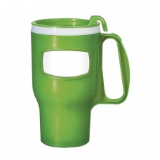 Lime Green Extreme Travel Mugs | 16 oz