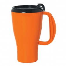 Orange Omega Mugs With Slider Lid | 16 oz