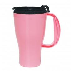 Pink Omega Mugs With Slider Lid | 16 oz