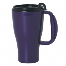 Purple Omega Mugs With Slider Lid | 16 oz