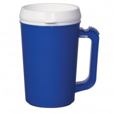 Blue Thermo Insulated Mugs | 22 oz