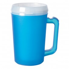 Ice Blue Thermo Insulated Mugs | 22 oz