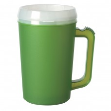 Green Thermo Insulated Mugs   22 oz