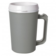 Storm Gray Thermo Insulated Mugs | 22 oz