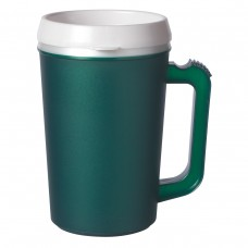 Dark Green Thermo Insulated Mugs | 22 oz
