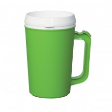 Lime Green Thermo Insulated Mugs | 22 oz