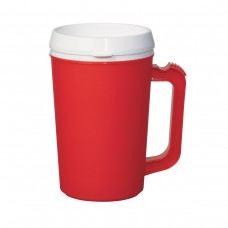 Red Thermo Insulated Mugs | 22 oz