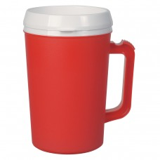Red Thermo Insulated Mugs | 34 oz