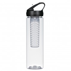 Black Fruit Fusion Bottles | 25 oz - Clear With Black Infuser