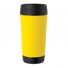 Yellow Perka Insulated Mugs | 17 oz