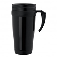Black Double Wall PP Mugs | 16 oz