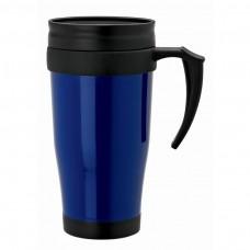 Blue Double Wall PP Mugs | 16 oz