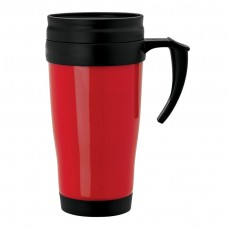 Red Double Wall PP Mugs | 16 oz