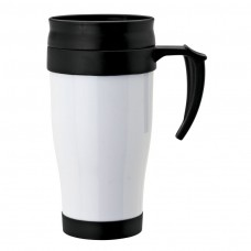 White Double Wall PP Mugs | 16 oz