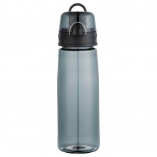 Black Capri Tritan Sports Bottles | 25 oz - Smoke