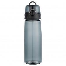 Black Capri Tritan Sports Bottles   25 oz - Smoke